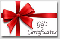 Massage Santa Barbara Gift Certificates