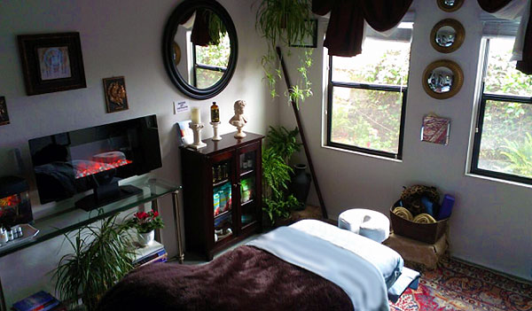 Deep Tissue Massage Santa Barbara Studio Picture